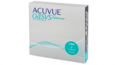 Lentilles de contact Acuvue Oasys 1 Day - Boîte de 90 Lentilles Journalières