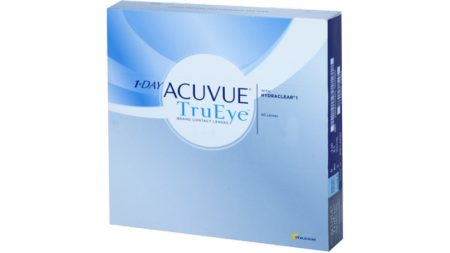 Lentilles de contact 1 Day Acuvue Trueye - Boîte de 90 Lentilles Journalières