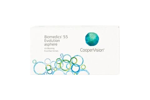 Lentilles BioMedics 55 Evolution