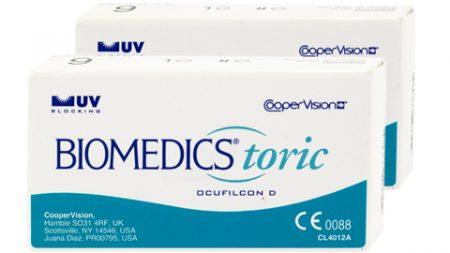 Lentilles BioMedics Toric UV