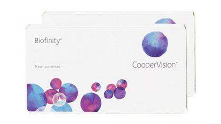 Lentilles Biofinity 6er Box