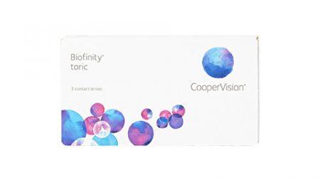 Lentilles Biofinity Toric 3er Box