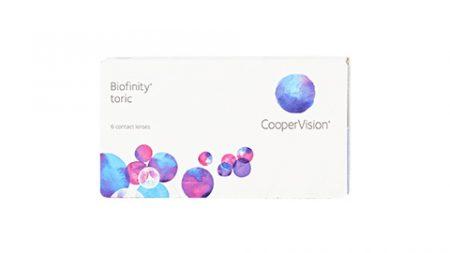 Lentilles Biofinity Toric 6er Box