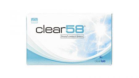 Lentilles Clear 58