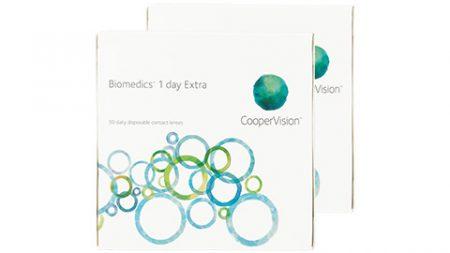 Lentilles Biomedics 1 day Extra