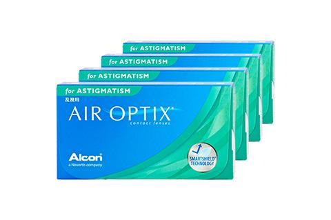 Lentilles AIR OPTIX for Astigm.