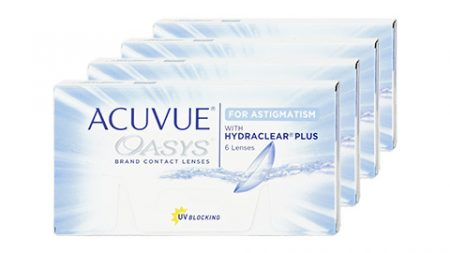 Lentilles ACUVUE Oasys for Astigmatism