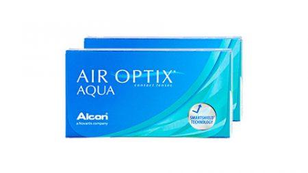 Lentilles AIR OPTIX Aqua