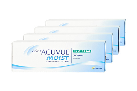 Lentilles 1 DAY ACUVUE MOIST Multifokal