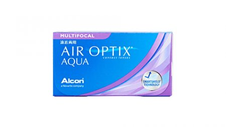 Lentilles AIR OPTIX Aqua Multifocal